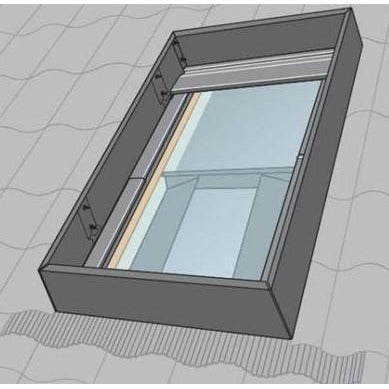 VELUX KFD UK08 0000 Wind Deflector 134 x 140 cm