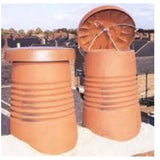 C-Cap Terracotta Chimney Cowl