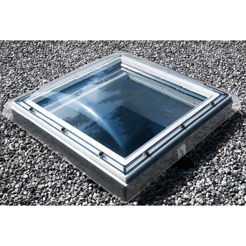 VELUX ISD 120120 0010A Clear Polycarbonate Dome Cover 120 x 120 cm