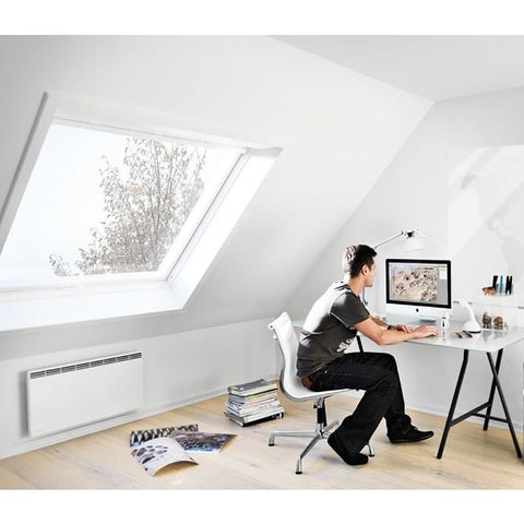 velux ggu sk06 008230 solar white pu passive house window roofing outlet. Black Bedroom Furniture Sets. Home Design Ideas