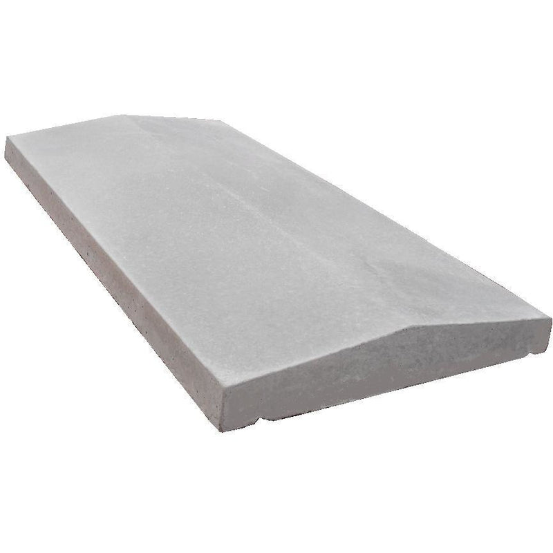 Castle Composites Twice Weathered Coping Stones 600 x 300mm - Light Grey