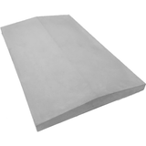 Castle Composites Twice Weathered Coping Stones 600 x 375mm - Light Grey