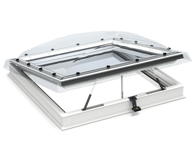 VELUX CVP 090090 S06G INTEGRA® Electric Opening Clear Flat Roof Window (90 x 90 cm)