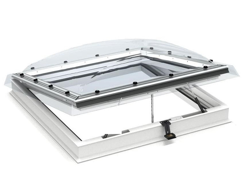 VELUX CVP 090090 S00C Clear Manual Opening Flat Roof Window (90 x 90 cm)
