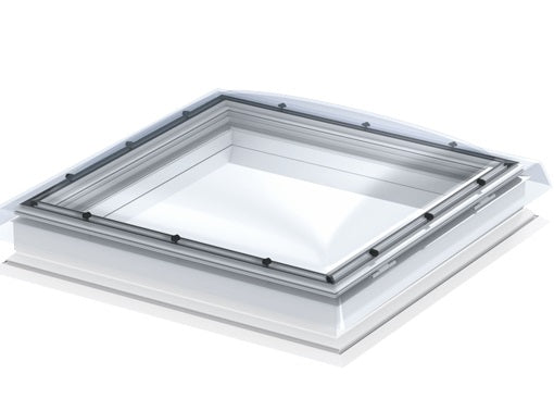 VELUX CFP 100100 S00G Clear Fixed Flat Roof Window (100 x 100 cm)