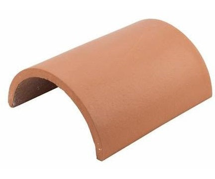 Redland Rosemary Clay Half Round Ridge