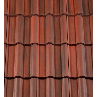 Redland 50 Double Roman Roof Tile - Rustic Red