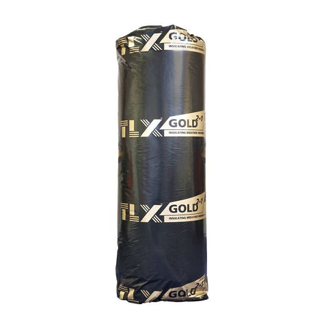 Thinsulex TLX Gold Multifoil Roofing Insulation - 1.2mtr x 10mtr