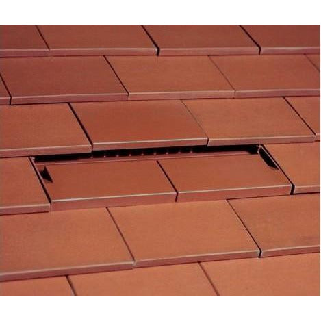 Available in 13 Colours Beddoes Products Plain Tile Vent to Fit Concrete//Clay Plain Roof Tiles Brown - Sanded