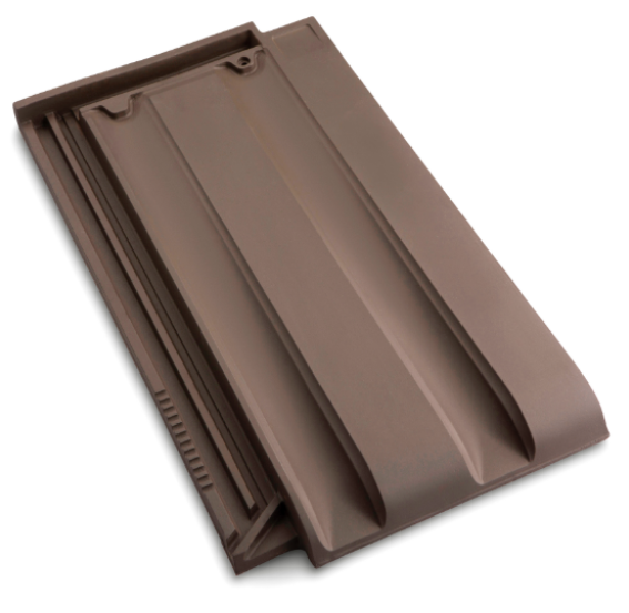 Innova Clay Interlocking Low Pitch Roof Tile 10° - Brown