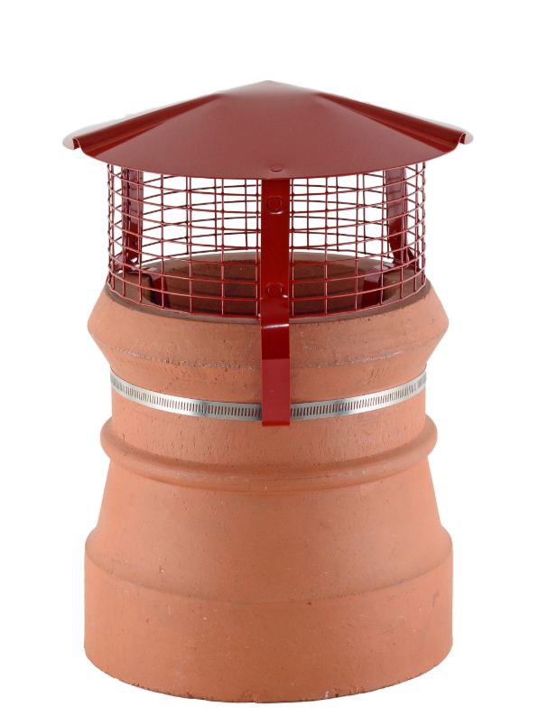 Brewer Birdguard Metal Chimney Cowl - Gas
