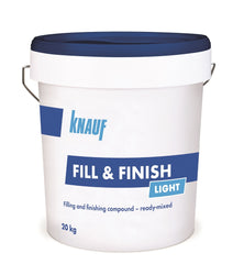 Knauf Fill & Finish Light (Ready Mixed Joining Compound) 20kg