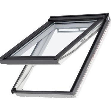 velux gpu fk06 0070 white top hung window roofing outlet