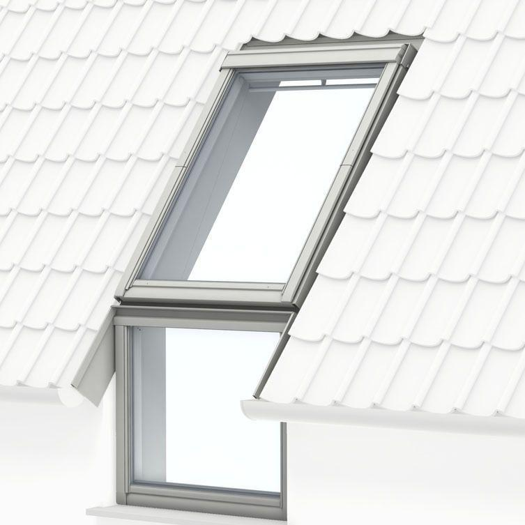 VELUX VIU White Polyurethane Fixed Vertical Elements