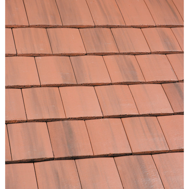 Marley Ashmore Roof Tiles - Old English Dark Red