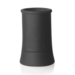 Redbank Slate Body Mix Roll Top Chimney Pot - 450mm