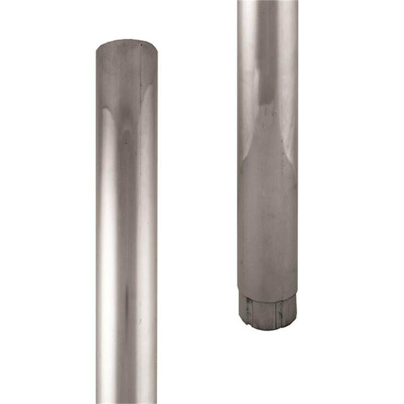 Lindab Majestic Galvanised Steel Downpipe - 120mm x 3m
