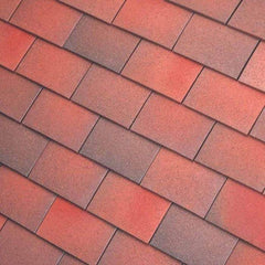 Dreadnought Clay Plain Roof Tiles - Brown Antique (sandfaced)