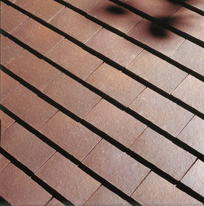 Dreadnought Clay Plain Roof Tiles - Brown Brindle (smoothfaced)