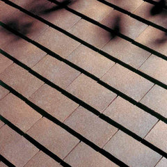 Dreadnought Clay Plain Roof Tiles - Brown Heather (sandfaced)