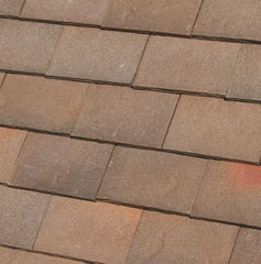 Dreadnought Clay Plain Roof Tiles - Rustic Brown Heather