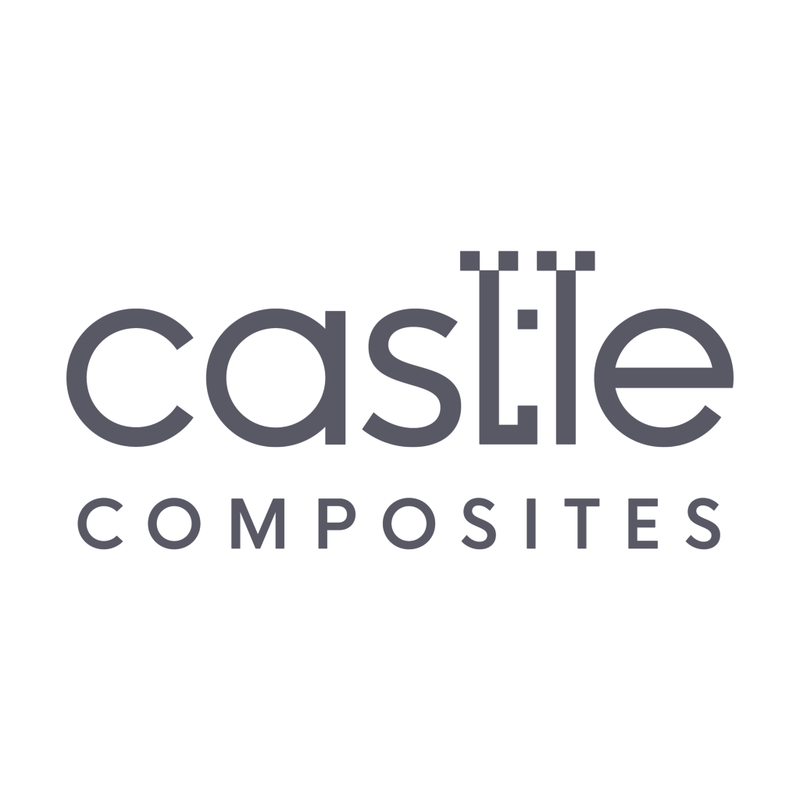Castle Composites Contract 20 Porcelain Paving - Hammerstone Beige (600 x 600mm)