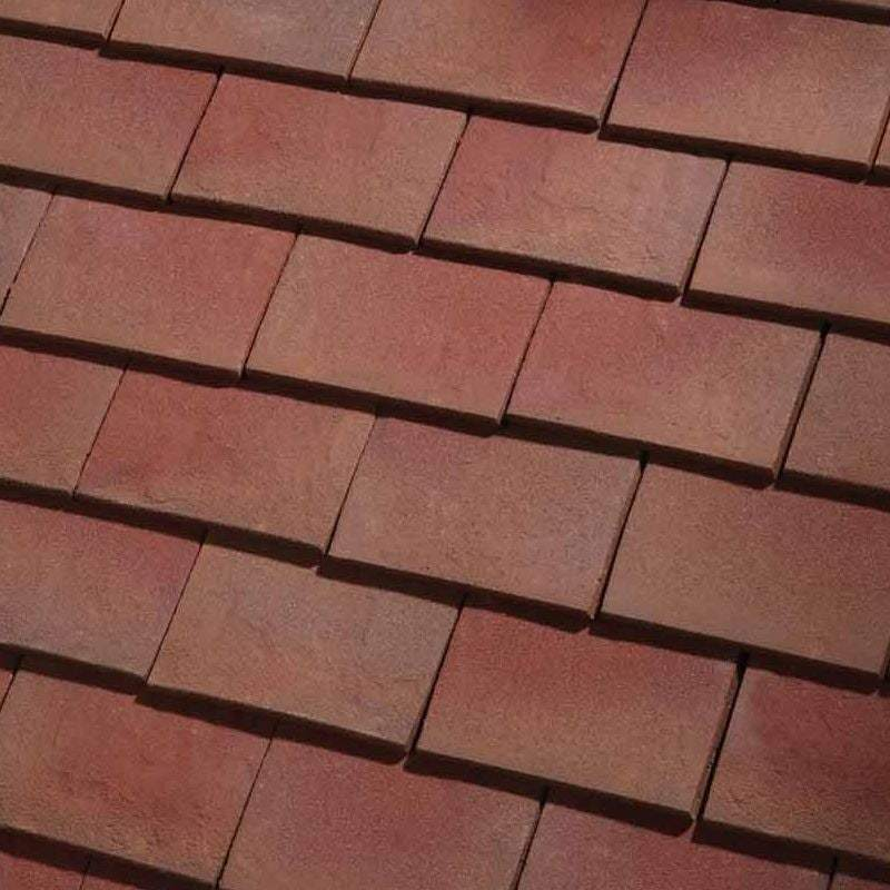 Dreadnought Clay Plain Roof Tiles - Classic Handmade Bronze