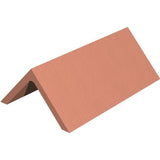 Marley Clay Plain Angle Ridge 450mm - Red Smooth