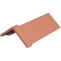 Marley Clay Capped Angle Ridge 450mm - Red Smooth