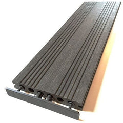 Castle Composites Castlewood Composite Decking Board - Silver Grey