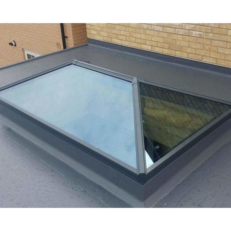 Atlas Contemporary Aluminium Roof Lantern - Clear Self Cleaning Glass