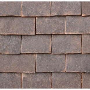 Tudor Traditional Handmade Clay Tile & Half
