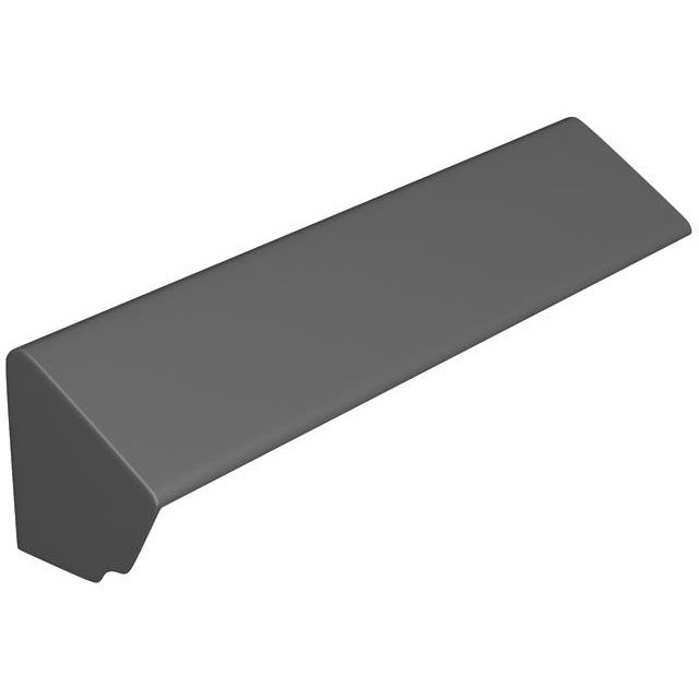 Marley Eternit Fibre Cement Monopitch Ridge Stopend - 900mm