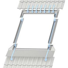 VELUX EDL 0000 Flashings - for use with Slates up to 8mm thick.