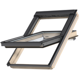 VELUX GGL FK04 3066 Triple Glazed Pine Centre-Pivot Roof Window (66 x 98 cm)