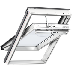 VELUX GGU SK06 008230 Solar White PU Passive House Roof Window (114 x 118 cm)