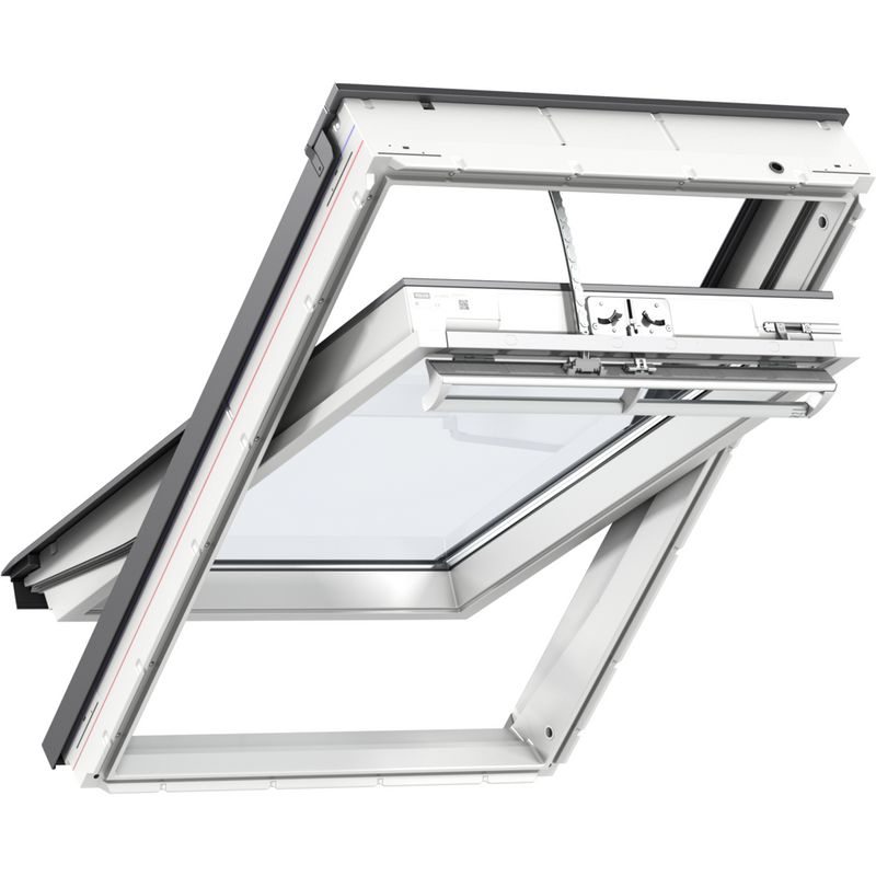 VELUX GGU MK04 008230 Solar White PU Passive House Roof Window (78 x 98 cm)
