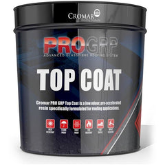 Cromar PRO 25 GRP Dark Grey Fire Retardant Top Coat - 20kg