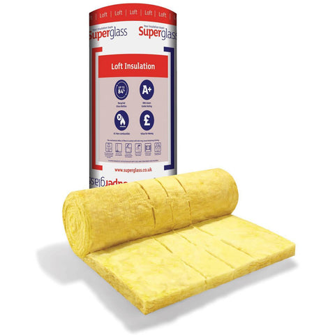 Superglass Mulit-Roll 44 Loft Roll Insulation - 200mm (5.63 m2 roll)