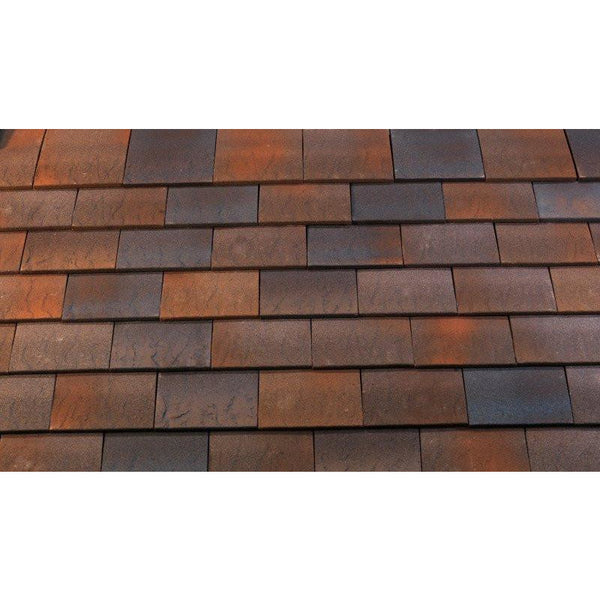 Marley Hawkins Clay Plain Tile Fired Sienna Roofing Outlet