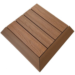 Castle Composites Castlewood External Ramp Corner - Teak  (pack of 2)