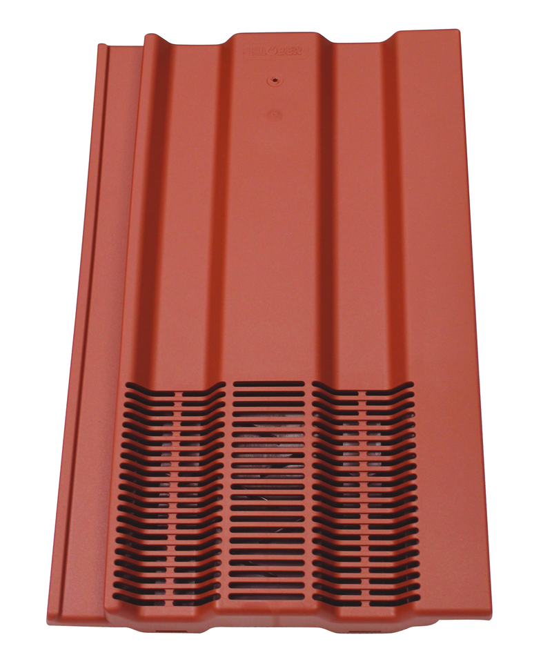 Klober Profile-Line® 15 x 9 Tile Vent - Antique Red