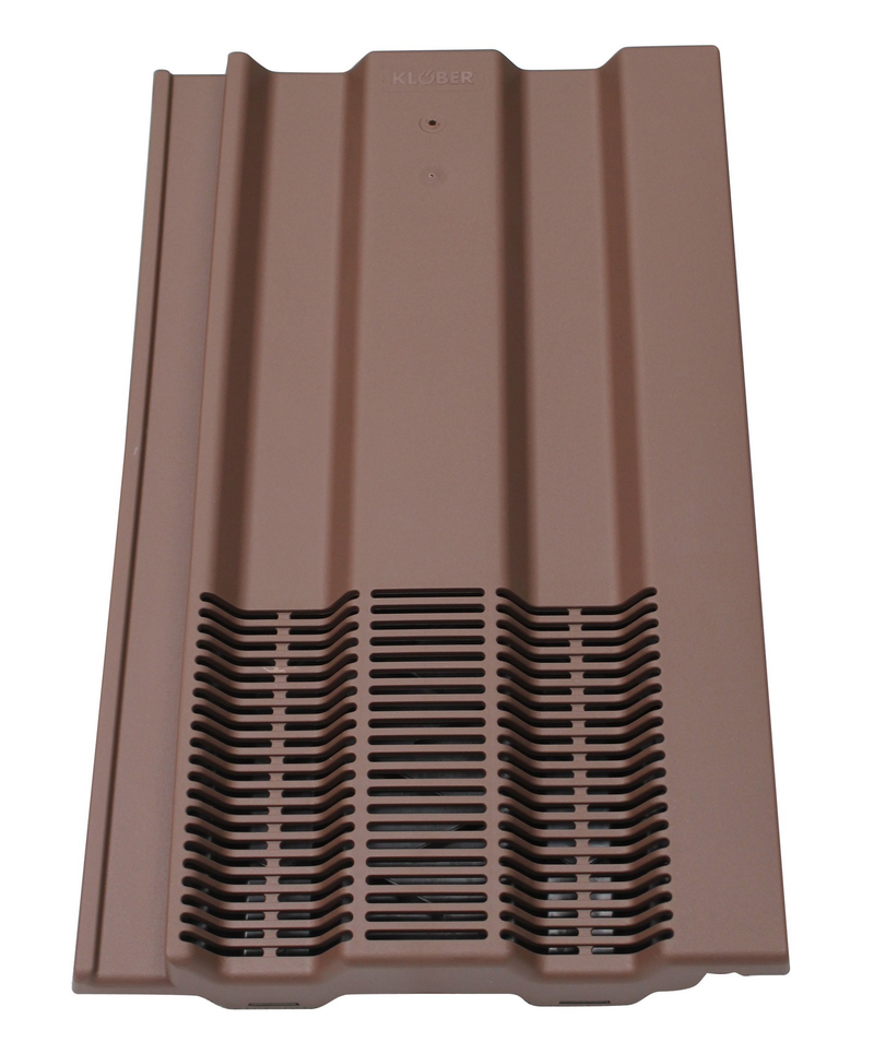 Klober Profile-Line® 15 x 9 Tile Vent - Brown