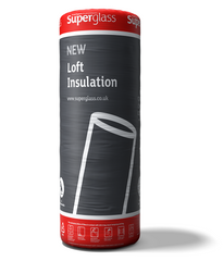 Superglass Multi-Roll 44 Loft Roll Insulation - 100mm (12.12 m2 roll)