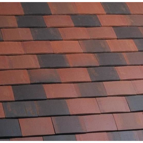 Marley Acme Double Camber Plain Roof Tile - Dark Brindle