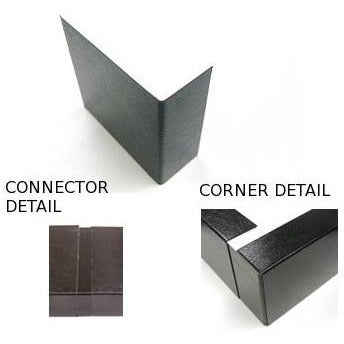 Plastisol Metal Trim Corner & Connector