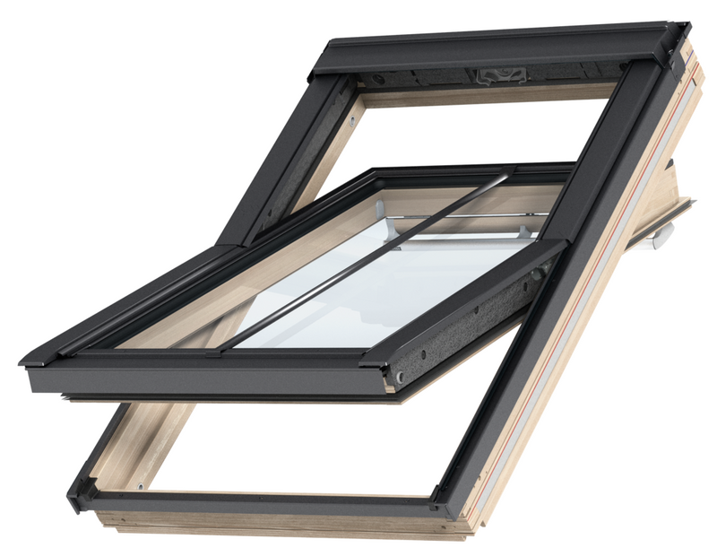 VELUX GGL FK06 SD5W3 Pine Centre-Pivot Conservation Window (66 x 118 cm)