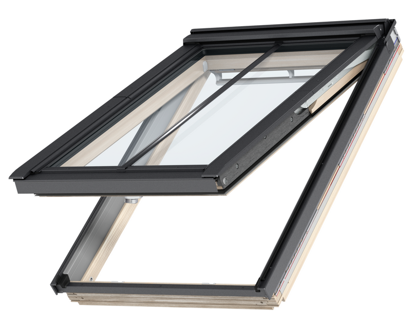 VELUX GPL MK08 SD5P3 Pine Top-Hung Conservation Window (78 x 140 cm)