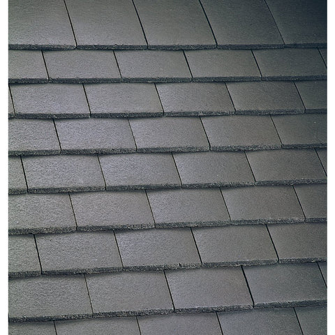 Marley Concrete Plain Roof Tile - Smooth Brown