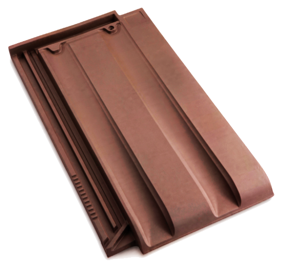 Innova Clay Interlocking Low Pitch Roof Tile 10° - Rustic